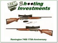 Remington 7400 175th Anniversary 30-06 Leupold 3-9
