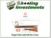 Ruger Red Label 28 Gauge, 28in, in the box!