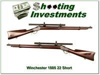 Winchester Low Wall 1885 22 Short Musket