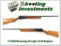 Browning A5 Light 12 65 Belgium 28in Mod