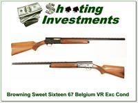 Browning A5 Sweet Sixteen 67 Belgium Honey Blond VR Mod