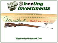 Weatherby Mark V Ultramark NIB 1 of a kind!