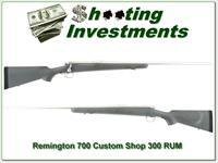 Remington 700 Custom Shop Stainless 300 RUM!