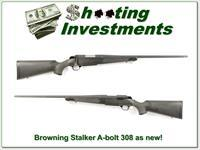 Browning A-bolt II Stalker 308 Win, looks new!