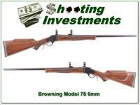Browning Model 78 hard to find 6mm Heavy Barrel