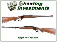 Ruger No.1 Tropical in 458 Lott unfired