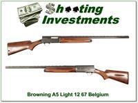 Browning A5 Light 12 67 Belgium Restored to new condition!