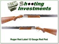 Ruger Red Label 12 Gauge Red Pad 26in choke tubes