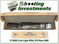 Colt Light Rifle new, unfired in box perfect 270!
