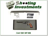 Colt 1861 Navy Black Power NIB!