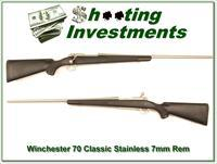 Winchester Model 70 Classic Stainless 7mm as new