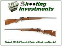 Sako L579 Forester 243 Varmint Bofers Steel Exc Cond!