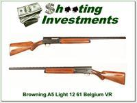 Browning A5 Light 12 61 Belgium 28in VR