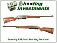 Browning BAR 7mm Rem Mag Exc Cond!