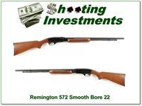 Remington 572 Fieldmaster .22 LR SMOOTH BORE