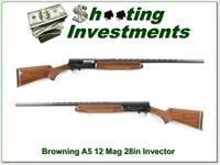Browning A5 12 Magnum 28in Invector Barrel Exc!