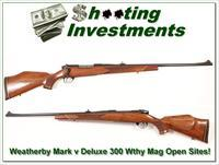 Weatherby Mark V Dleuxe 300 Wthy Mag