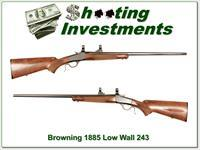 Browning 1885 Low wall 243 Winchester!