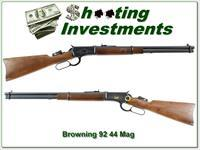 Browning Model 92 Centennial 44 rem mag Exc Cond