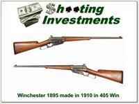 Winchester 1895 in 405 Winchester made in 1910