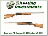Browning A5 Magnum 20 69 Belgium VR EXC Cond!