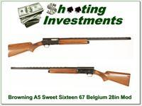 Browning A5 Sweets Sixteen 67 Belgium 28in VR Mod!