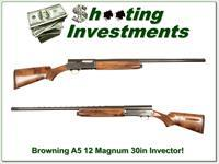 Browning A5 Magnum 12 30in Invector Exc Cond!
