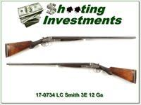 LC Smith 3E 12 Gauge 30in Full and Full nice!