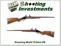 Browning Model 78 hard to find 6mm Heavy Barrel!
