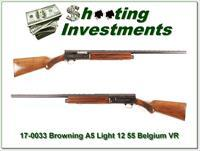 Browning A5 Light 12 55 Belgium Vent Rib!