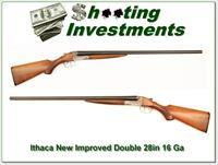 Ithaca New Improved Double 16 gauge 28-inch barrels