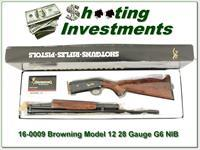 Browning Model 12 28 Gauge High Grade NEW in BOX!