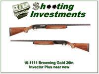 Browning 12ga Gold SL Super Lite Semi Auto Shotgun