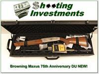 Browning Maxus Ducks Unlimited 75th Anniversary NEW!
