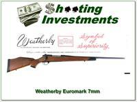 Weatherby Mark V Euromark 7mm Wthy ANIB!