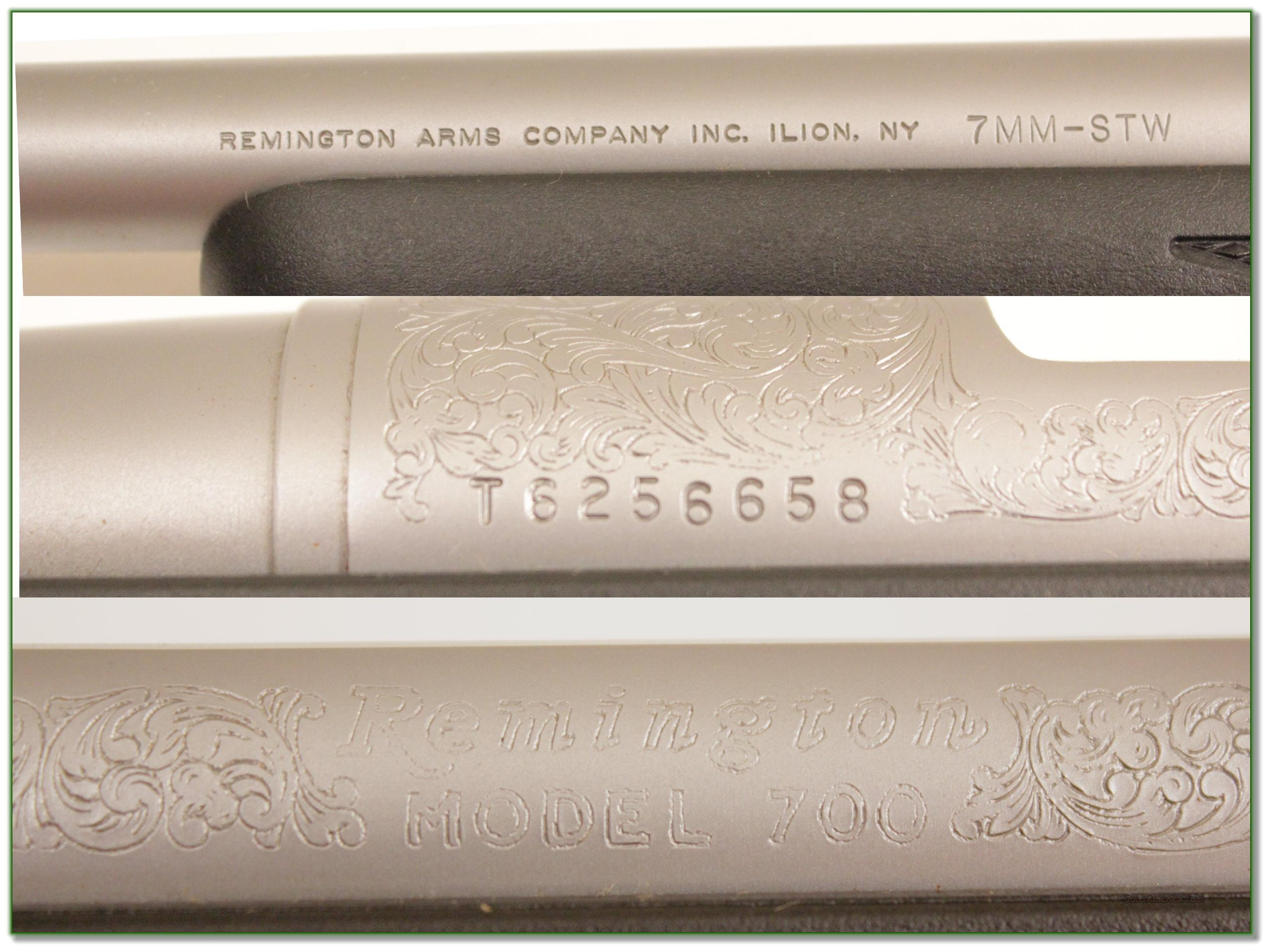Magnum Insurance Near Me >> Remington 700 Stainless Engraved 7mm STW for sale
