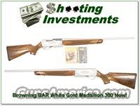 Browning BAR White Gold Medallion 300!