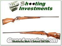 Weatherby Mark V Deluxe 300 Wthy Mag 26in