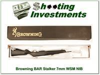 Browning BAR Mark II Stalker 7mm WSM Factory NEW!