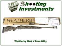 Weatherby Mark V Terramark RC 7mm Wthy factory new