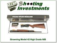 Browning Model 42 410 High Grade NIB Box!