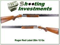 Ruger Red Label Silver Reciver 28in choke tubes