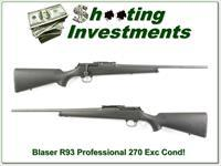 Blaser R93 R 93 Professional 270 Win near new!