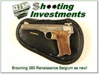 Browning 380 Renaissance 71 Belgium as new!