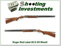 Ruger Red Label Silver 28 Gauge 28in XX Wood!