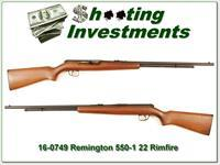 Remington 550-1 22 auto Exc all original cond