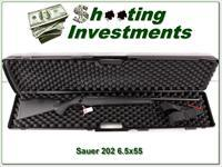 Sauer 202 6.5X55 Mauer as new in case