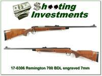 Remington 700 BDL Deluxe engraved 7mm Rem Mag