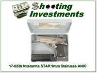 Interarms Firestar Stainless 9mm in case 2 Mags