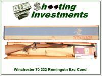 Winchester Model 70 Vintage 222 Remington NIB!